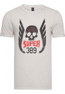 Camiseta Masculina Super 389 - Off White