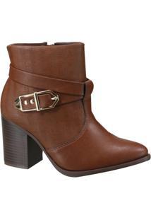 Bota Ankle Boot Ramarim Feminina