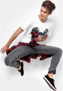 Camiseta Disney Face Mickey Masculina - Masculino