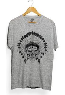 Camiseta Bsc Indian Skull - Masculino