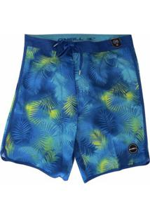 Bermuda Boardshort O'Neill Napalm Blue - Masculino-Azul