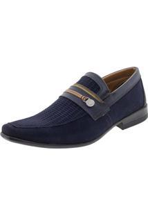 Sapato Masculino Social Bkarellus - 7701 Marinho