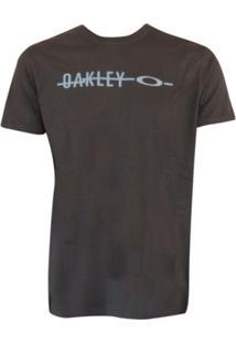 Camiseta Frizzly Elipse Tee Jet Oakley - Masculino