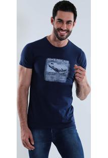 Camiseta American Masculina Squadrow