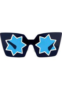 4b077fe63 ... Linda Farrow Óculos De Sol 'Markus Lupfer 10 C4' - Azul