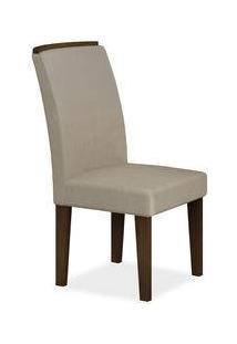 Cadeira De Jantar, Castor, Veludo Brilho, Jussara