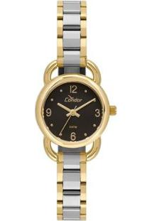 Relógio Condor Mini Feminino - Feminino-Prata+Dourado