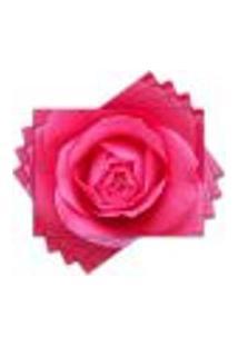 Jogo Americano - Rosa Com 4 Peças - 382Jo