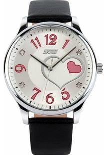 Relógio Skmei Analógico 9085 - Feminino-Preto