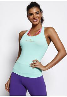 "Regata Nadador ""Physical Fitness®"" - Verde & Douradaphysical Fitness"