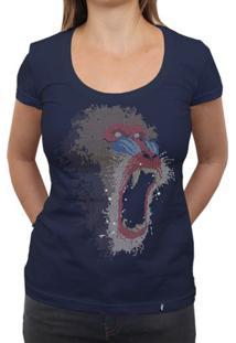 Mandrillus Sphinx - Camiseta Clássica Feminina