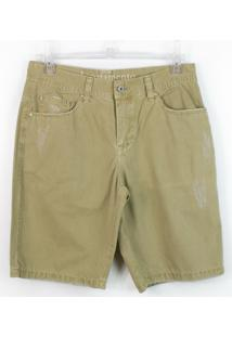 Bermuda Masculina Acostamento Jeans Sarja 67116044 - Masculino