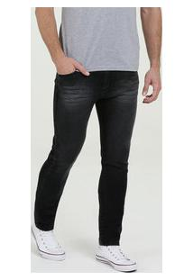 Calça Masculina Jeans Skinny Marisa