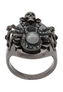 Alexander Mcqueen Spider Ring - Prateado