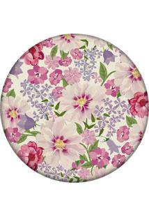 Tapete Love Decor Redondo Wevans Flowers Pink 94Cm