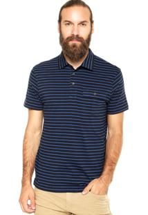 Camisa Polo Richards Bolso Azul