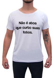 Camiseta Impermanence Estampada Curto E Comento Masculina - Masculino