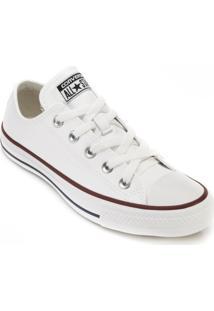 Tênis Converse All Star Ct04500001 - Feminino-Branco+Vermelho