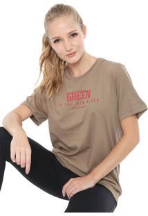 Camiseta Alto Giro Ceramic Inspiracional Eco Verde