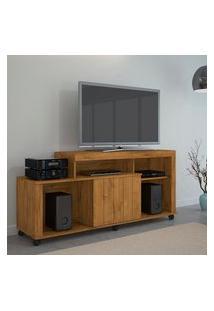 Rack Para Tv Até 42 Pol Jcm Movelaria Ouro 1 Porta Nobre Soft