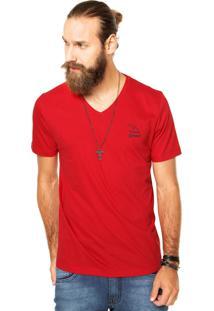 Camiseta Sommer Reta Vermelha