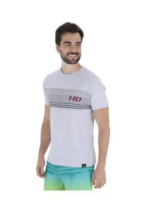 Camiseta Hd Gradi - Masculina - Cinza Claro