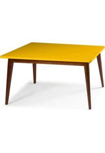 Mesa Jantar Novita 1.20 - Amarelo - Tommy Design