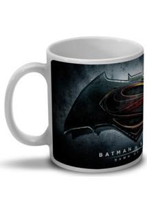 Caneca Bandup Batman Vs Superman Dawn Of Justice Branco