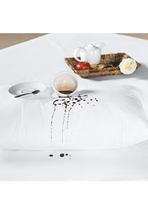 Capa Para Travesseiro Slim Juma Impermeável Branca