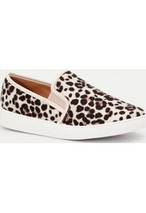Tênis Feminino Slip On Animal Print Vizzano 1214200