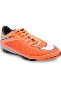 Tenis Masc Nike 599849-800 Hypervenom Phelom Ic Laranja Neon/Preto