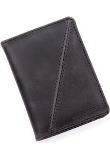 Carteira Black Pocket Aleatory Masculina - Masculino-Preto