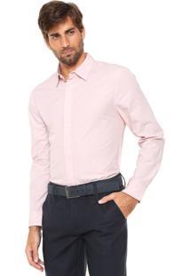 Camisa Hering Relevo Rosa