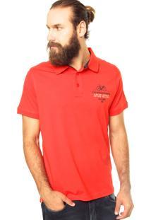 Camisa Polo Zebra Le Tour Vermelha