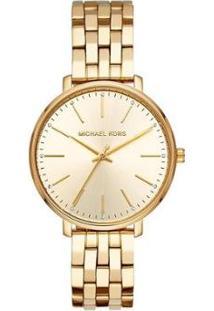 Relógio Michael Kors Pyper Feminino - Feminino-Dourado
