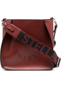 Stella Mccartney Bolsa Tiracolo Com Logo Stella - Vermelho