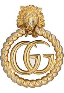 Gucci Brinco Único Gg - Dourado