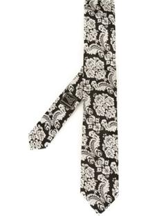 Dolce & Gabbana Gravata De Seda - Neutro