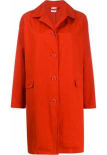 Aspesi Jaqueta Com Abotoamento Simples - Vermelho