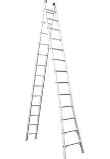 Escada Extensivel 2 X 13 26 Degraus - Unissex