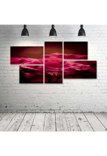 Quadro Decorativo - Red - Composto De 5 Quadros - Multicolorido - Dafiti