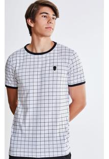 Camiseta Xadrez Caveira