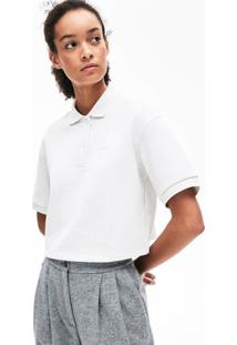 Polo Lacoste Regular Fit Branco