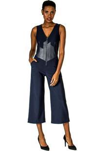 7bbd61b7c Macacão Fashion Ziper feminino | Gostei e agora?