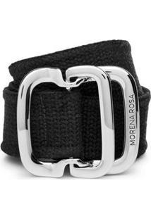 Cinto Cintura Quadril Regular Com Cadarco Preto