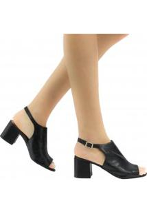 Sandália Zariff Shoes Fivela