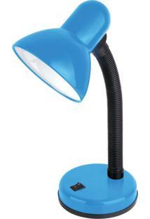 Luminária De Mesa Articulável Tlm 04 Taschibra Azul