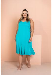 Vestido Curto Jade Tiffany Plus Size