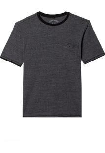Camiseta John John Rg Emil Grey Malha Cinza Masculina (Mescla Escuro, M)