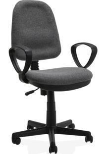 Cadeira Giratória Malaquita 2 60X60Cm Chumbo